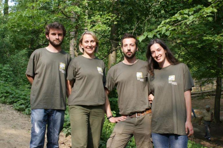 Quattro accompagnatori naturalistici al Parco Paleontologico Astigiano