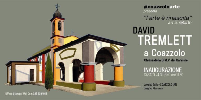 L'arte e i colori di David Tremlett per la rinascita di Coazzolo