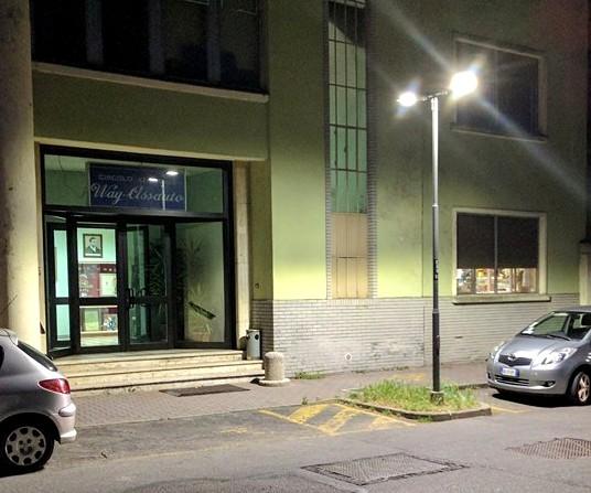 Asti: potenziati i lampioni in corso Pietro Chiesa e piazza Nostra Signora di Lourdes