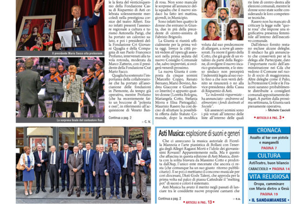 Prima pagina – 7 luglio 2017