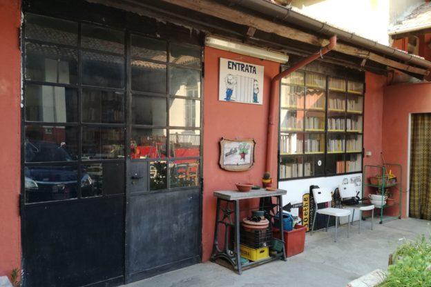 La biblioteca della Casa del Popolo intitolata alla memoria di Uberto Ghia
