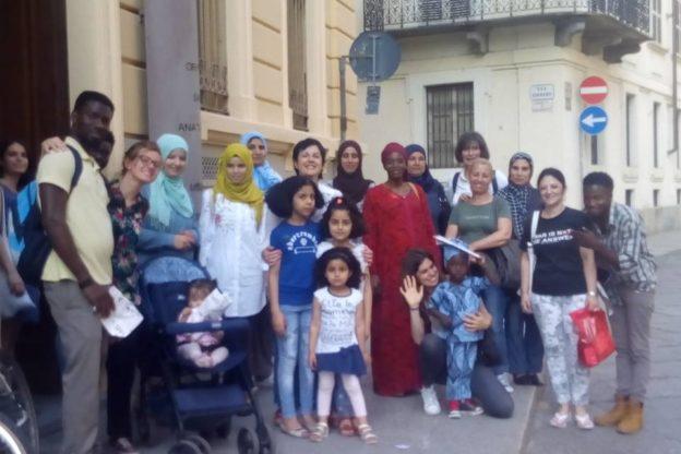 Apericena multietnica per la fine dei corsi di Noix de Kola