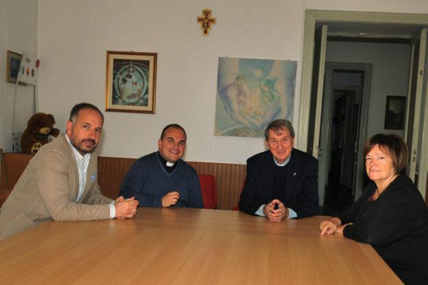 Asti: incontro tra Rasero, Cotto e il parroco di San Pietro