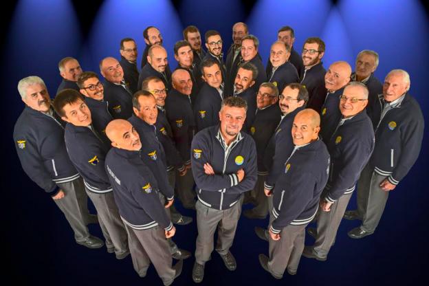 Il Coro CAI Uget di Torino si esibisce ad Asti