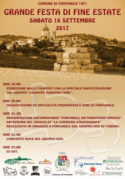 """""""Grande Festa di fine estate"""" in Fontanile"""