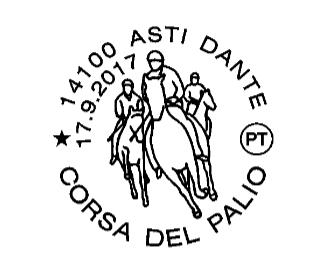Dalle Poste un annullo filatelico dedicato al Palio