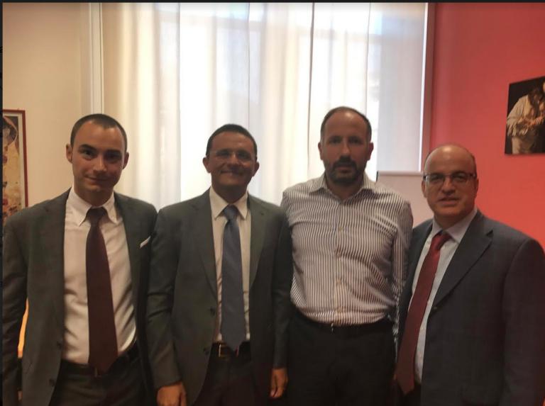 Incontro fra il sindaco di Asti e i responsabili di Poste Italiane dell'area Nord Ovest