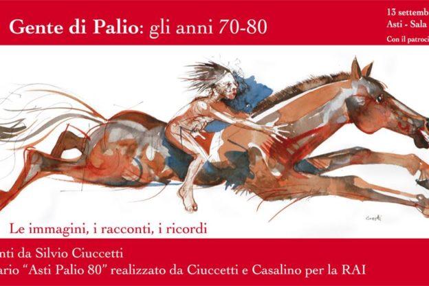 Gente di Palio, in Sala Pastrone un evento dedicato a Silvio Ciuccetti