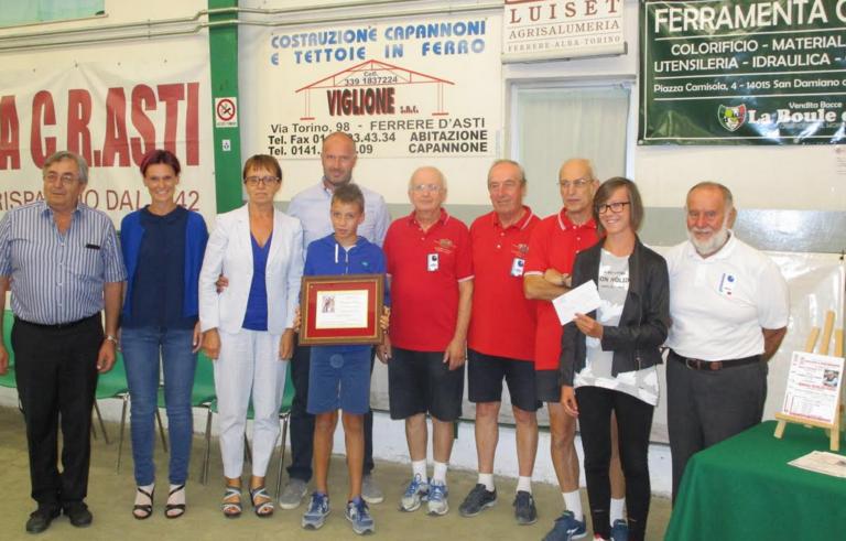 """Il Sandamianese vince il memorial """"Michelino Povero"""" di bocce"""