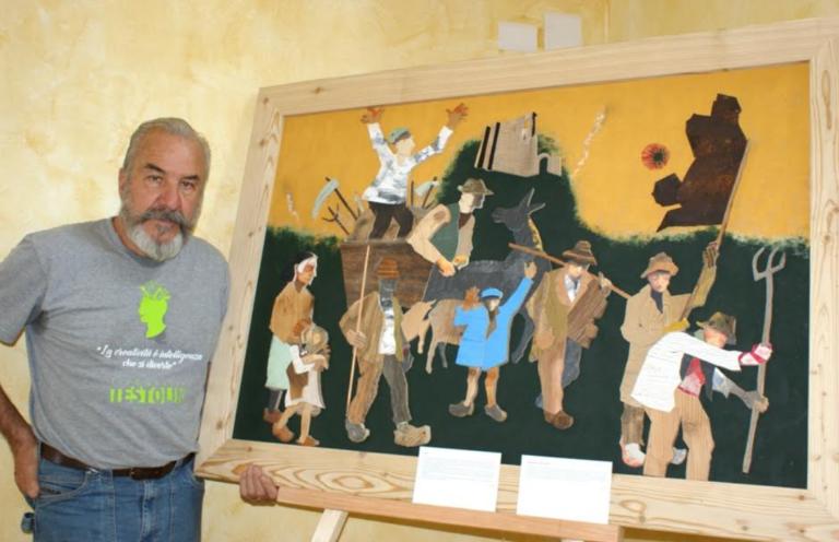 Al Museo Paleontologico la mostra di Bobo Pernettaz, il sarto di legni esausti