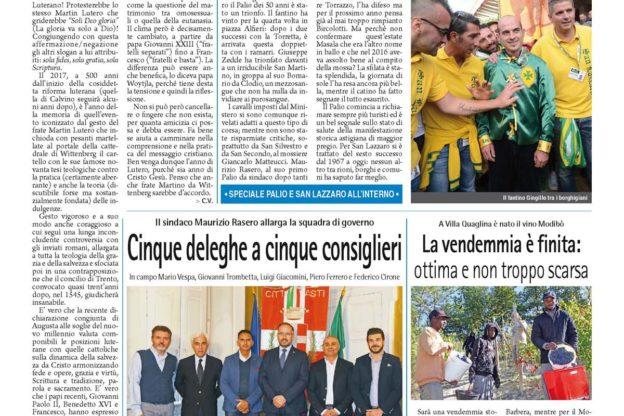 Prima pagina – 22 settembre 2017