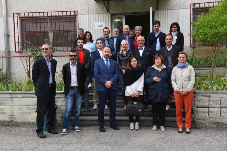 La nuova giunta in visita al carcere di Quarto d'Asti