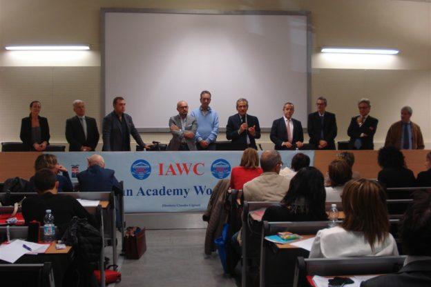 Inaugurazione del nuovo anno accademico dell'Italian Academy Wound Care