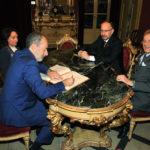 Incontro in Municipio tra il sindaco di Asti Rasero e l'ambasciatore italiano in Danimarca