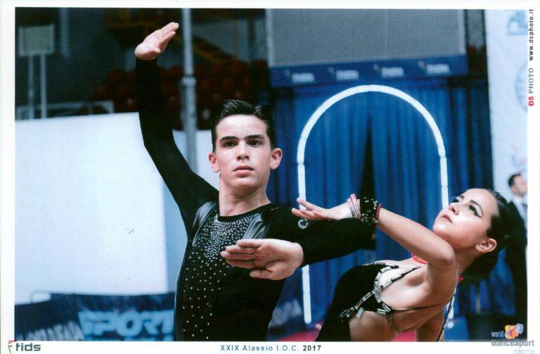 """Dalla scuola """"Universale Dance"""" di Canelli ai Campionati Mondiali di Bucarest di danze latinoamericane"""