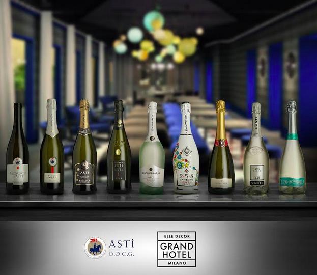 Asti docg wine partner di elle decor grand hotel a palazzo for Elle decor hotel palazzo morando