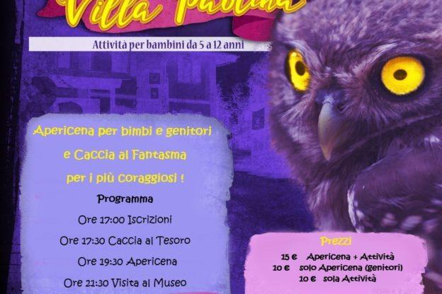 Halloween a Villa Paolina