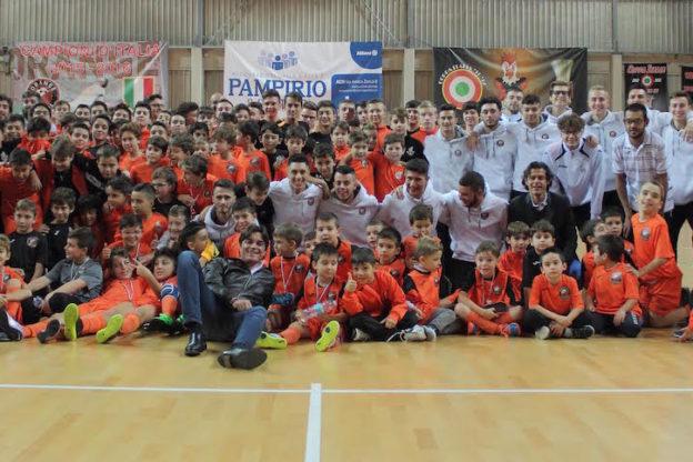 Orange Futsal. Prsentate le squadre del settore giovanile