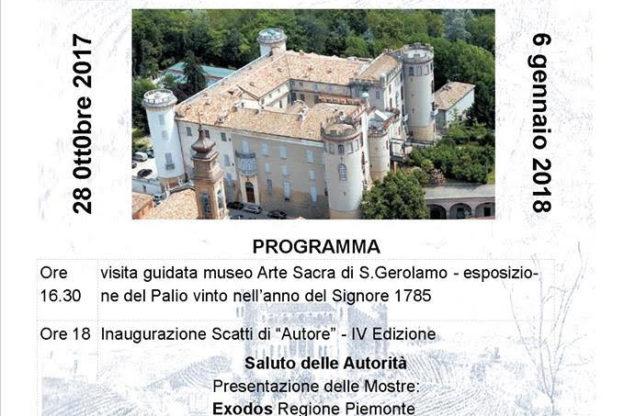 """Arte e Fotografia al castello di Costigliole d'Asti con """"Scatti d'Autore"""""""