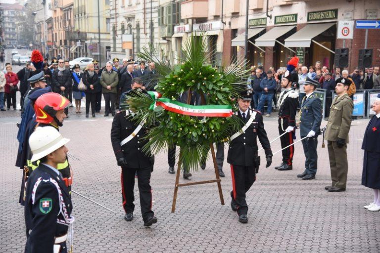 Ad Asti la giornata dell'Unità Nazionale e delle Forze Armate