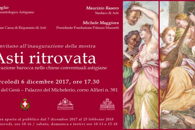 """""""Asti ritrovata"""", la decorazione barocca nelle chiese conventuali astgiane"""