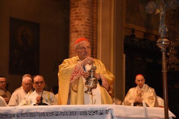 """Il cardinale Sodano compie 90 anni e festeggia in San Secondo """"in famiglia"""""""