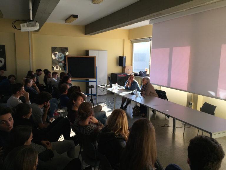 Intensa testimonianza di Tatiana Bucci agli studenti del liceo Vercelli