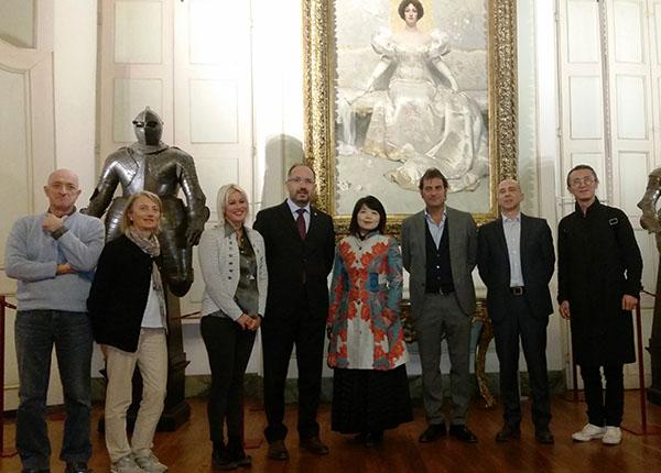 Giornalisti cinesi in visita nell'Astigiano