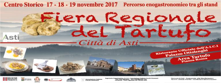 Da oggi ad Asti è Fiera Regionale del Tartufo