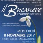 """Il Sala Pastrone il documentario """"Il Bucaneve"""""""