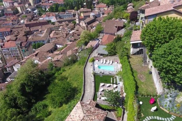 Menzione al concorso la Fabbrica del Paesaggio per il relais Villa del Borgo di Canelli