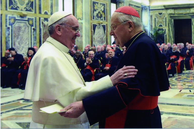 Il Cardinal Sodano festeggia ad Asti i suoi 90 anni