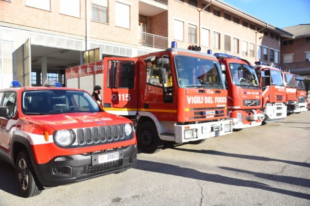 Asti, dai vigili del fuoco a lezione di gestione delle chiamate d'emergenza