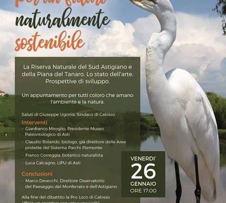 A Calosso appuntamento su natura e ambiente sostenibile