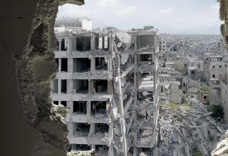 """""""Aleppo. Come è stata uccisa una città"""". Mostra di Domenico Quirico a Palazzo Mazzetti"""