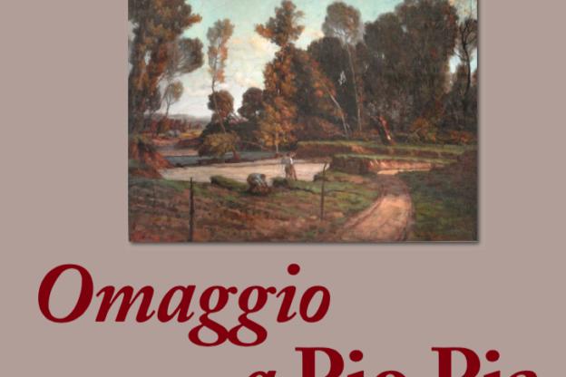 Omaggio a Pio Pia alla Fondazione Guglielminetti