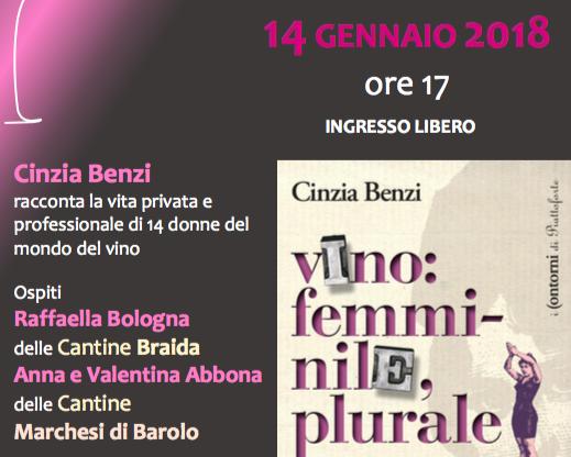 """Si presenta il libro """"Vino: femminile, plurale"""" a Canelli"""