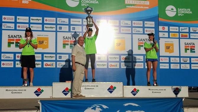 Alice Franco terza alla Marathon Acuatica Fe Coronda