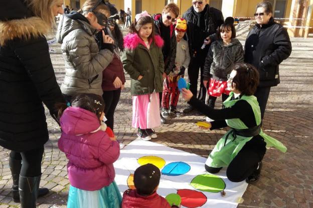 Carnevale all'Istituto N. S. delle Grazie a Nizza