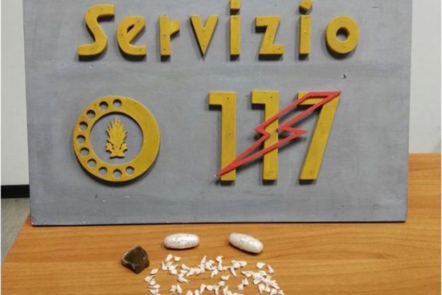 Fermato alla stazione di Asti con 300 dosi di eroina