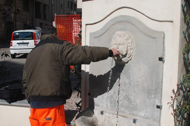 Al lavoro i tecnici dell'Asp per riattivare l'acqua delle fontane cittadine