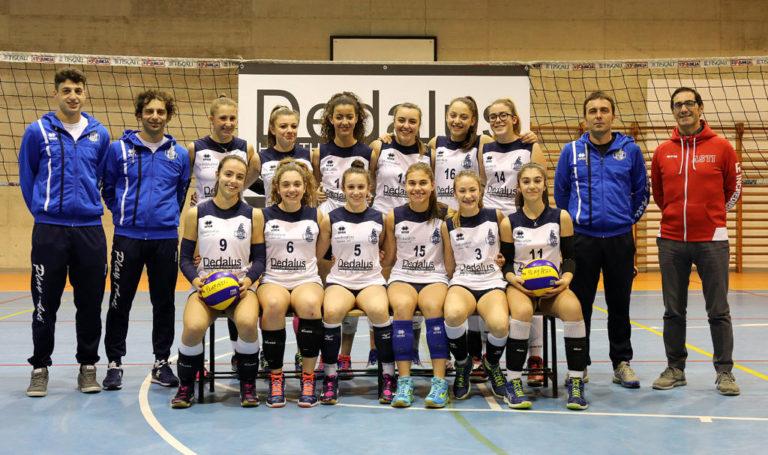 Dedalus – Piemonte. PlayAsti Under 14 vola in semifinale