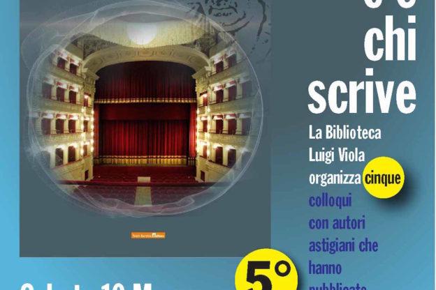 """Pier Giorgio Bricchi alla Biblioteca Viola per """"C'è chi scrive"""""""