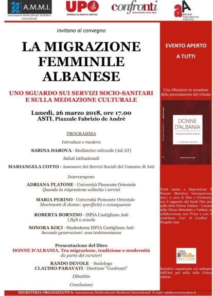 La migrazione femminile albanese: uno sguardo sui servizi socio-sanitari e sulla Mediazione Culturale