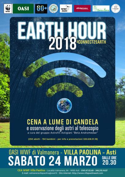 """""""Ora della Terra / Earth Hour"""" a Villa Paolina"""