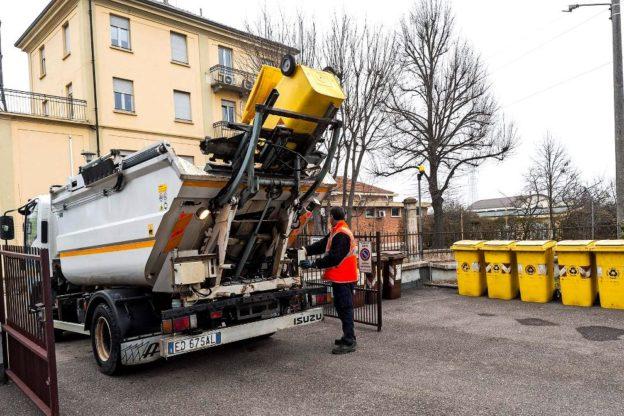 Il 25 aprile garantita la raccolta dei rifiuti
