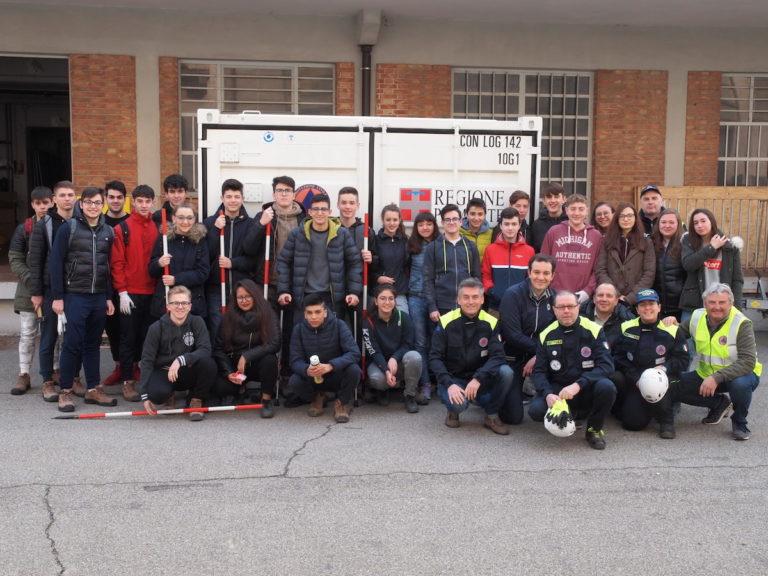 Gli studenti del Giobert diventano volontari della Protezione Civile Regionale