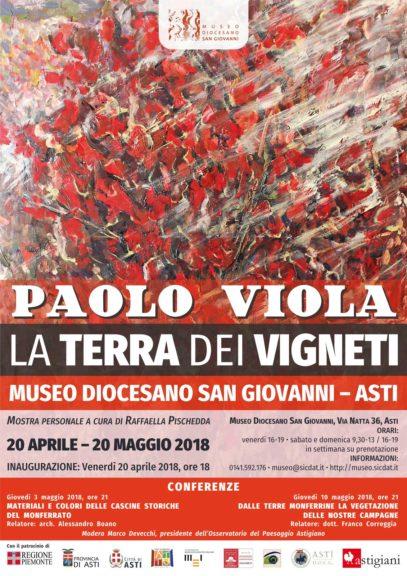 """""""La terra dei vigneti"""" al Museo Diocesano San Giovanni di Asti"""