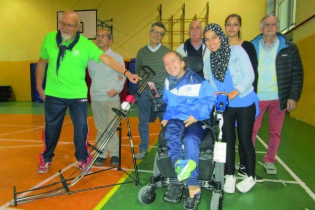 Boccia paralimpica: Giulia Marchisio rimane senza rampa