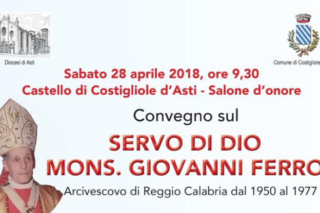 A Costigliole convegno su monsignor Giovanni Ferro